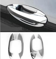 Exterior Door Handle Decorative Cover Trim For Mercedes Benz E class W213 Doorknob Bowl Decal ABS Strip Sequins