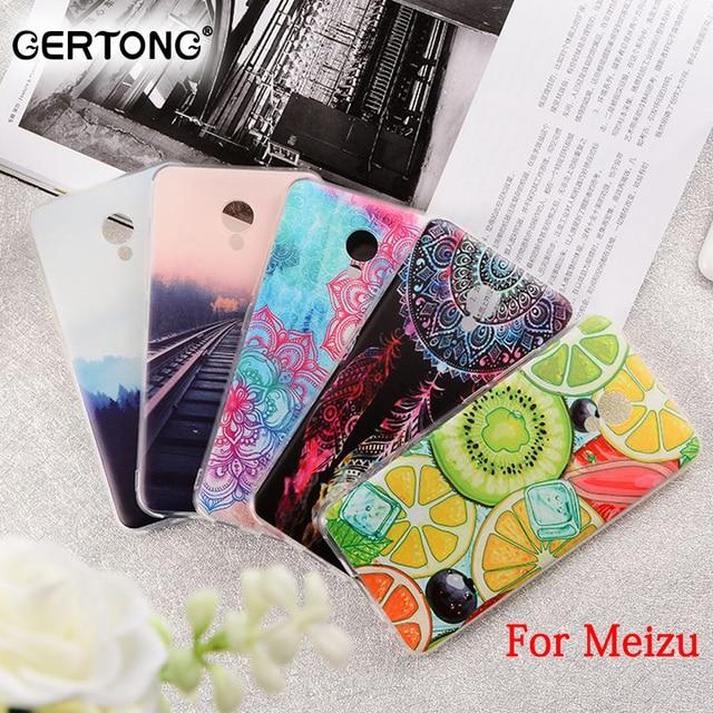 GerTong силиконовые окрашенные Обложка Телефонные Чехлы для Meizu M5 Примечание M5S M3 Max MX6 MX5 Pro 6 M2E M3E M3 Примечание M2 Примечание M3S мини U20 U10