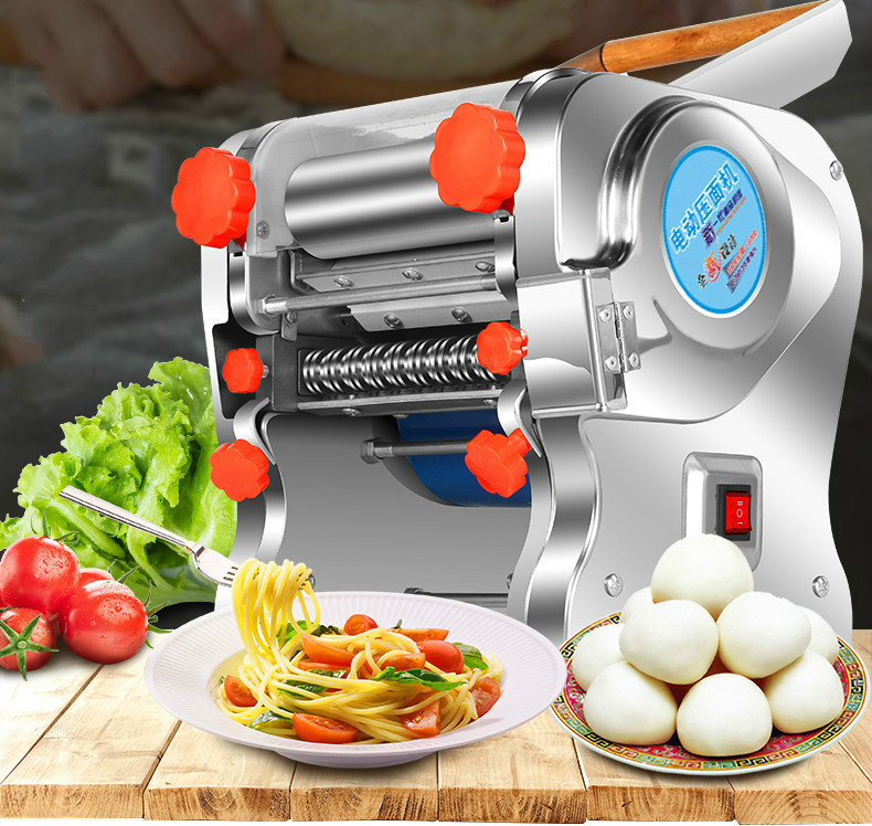 noodle machine is a small multi functional stainless steel commercial with electric automatic rolling dough dumpl NEW