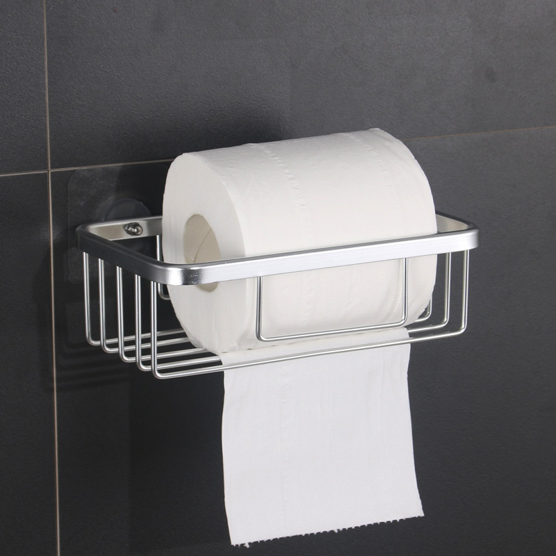 Semicircle / rectangle Upscale aluminum alloy cleaning Paper Holder wall-mounted shelf Keep the toilet paper roll corona processor shelf corona treatment 1100 film impact machine shelf the shelf the width the electric airsick discharge rack
