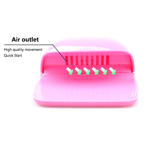 Image 5 - Nail Dryer Fan For Nails Drying Machine for Gel Varnish Home Portable Polish Curing Machines Apparatus Nail Art Fan Dryer