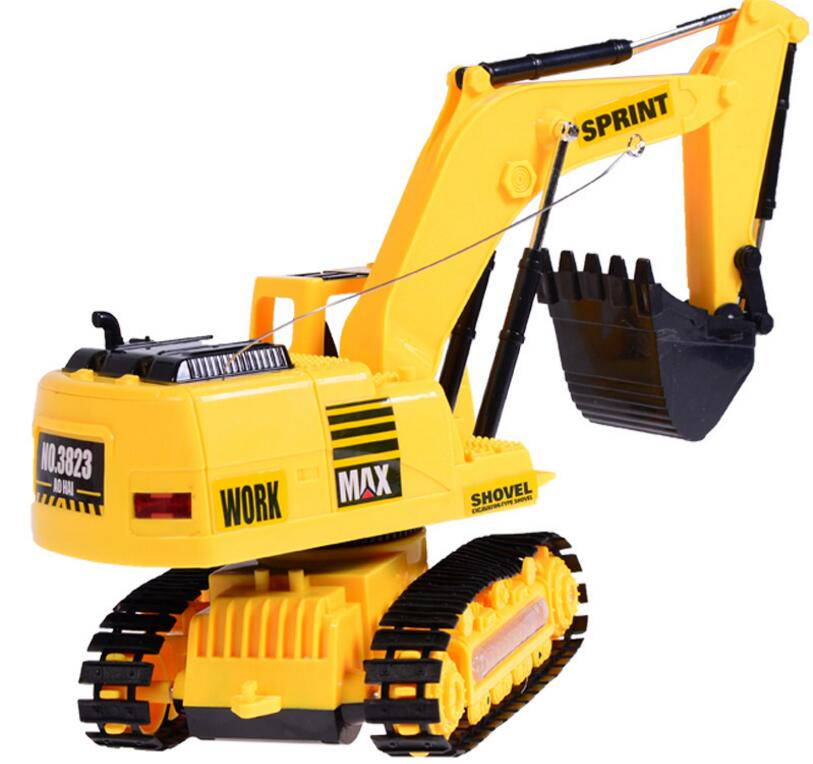 new remote control excavator car 3802 engineering truck child best gift educational toy Auto Demonstration Car
