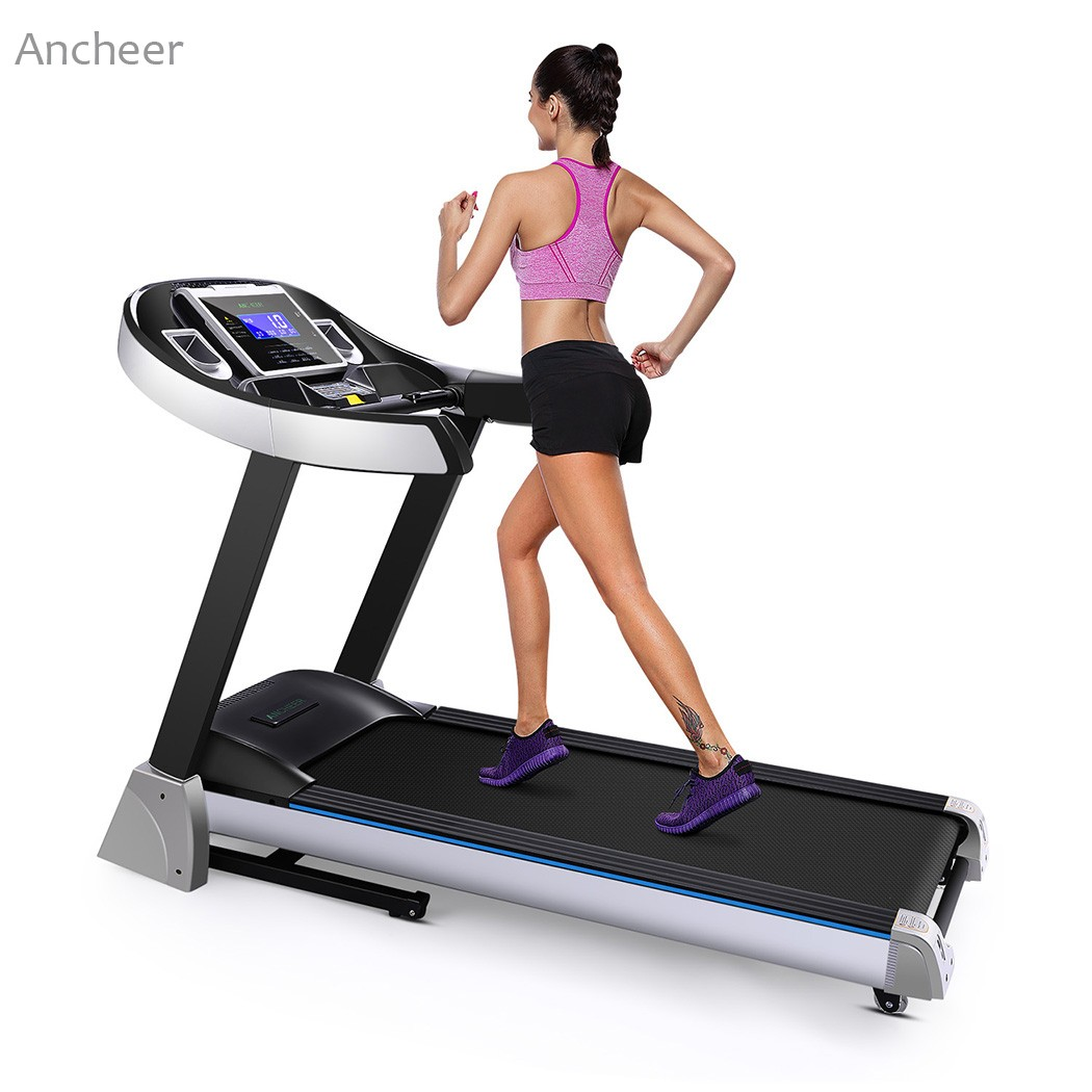 New Folding Electric Treadmill Exercise Equipment Walking Running Machine Gym Home fitness treadmill ancheer fitness folding electric treadmill exercise equipment motorized treadmill gym home walking jogging running machine
