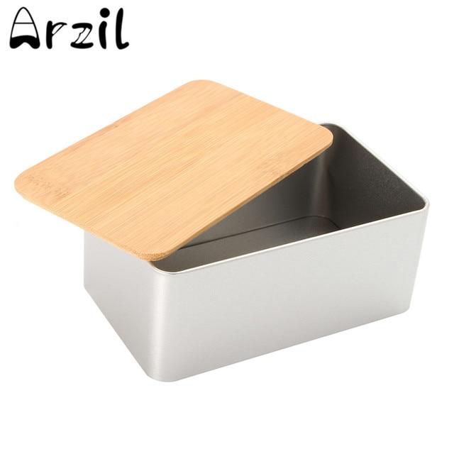 Us 4 41 Kleine Vintage Metall Brot Aufbewahrungsbox Bins Kuchen Zucker Boxen Tee Kraut Vorrats Halter Kuche Lebensmittel Container Organizer In