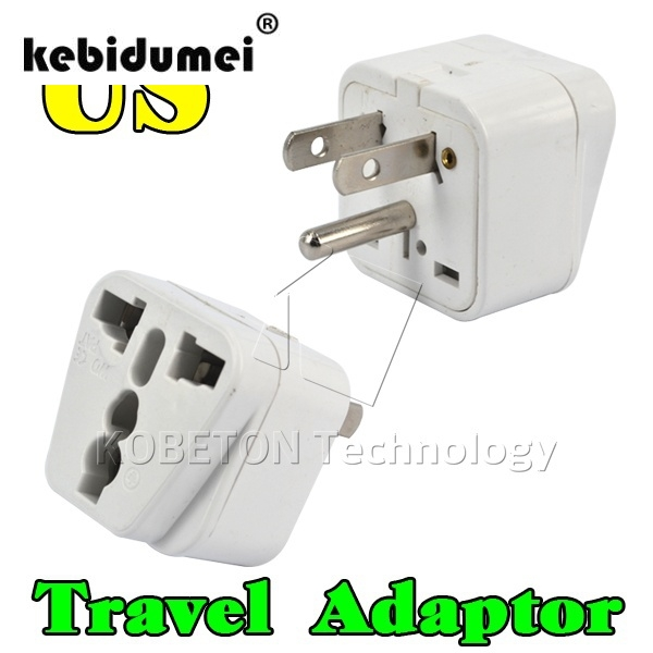 Universal 3 Pin Us Plug Home Travel Adapter Portable Electrical Wall Socket Eu Au Uk Brazil Italy Jack To Charger Converter