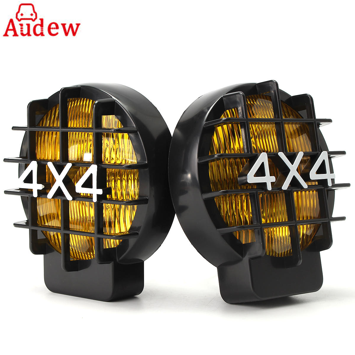 2pcs 5.5Inch White Yellow Car Day time Running Light  Fog Light Lamp Spotlight For 12V 4WD OffRoad Car SUV For JEEP bosch c5w 12v 5w day time 1987301060