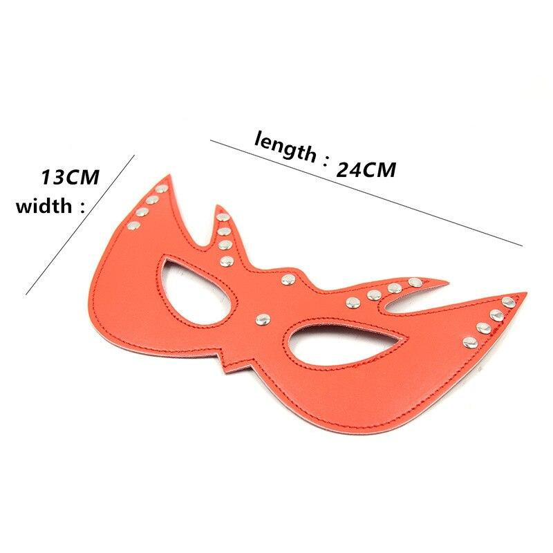Leather Cat Masks | Kinky Blindfold