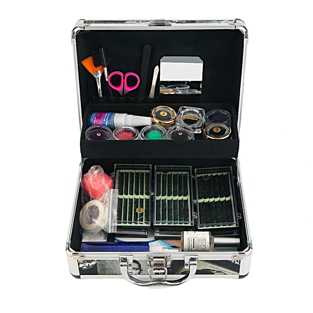 ФОТО Stylish False Eyelash 8/10/12mm Black Colorful Soft Handmade False Eyelashes Adhesives Eye Lashes Extension Full Best Selling