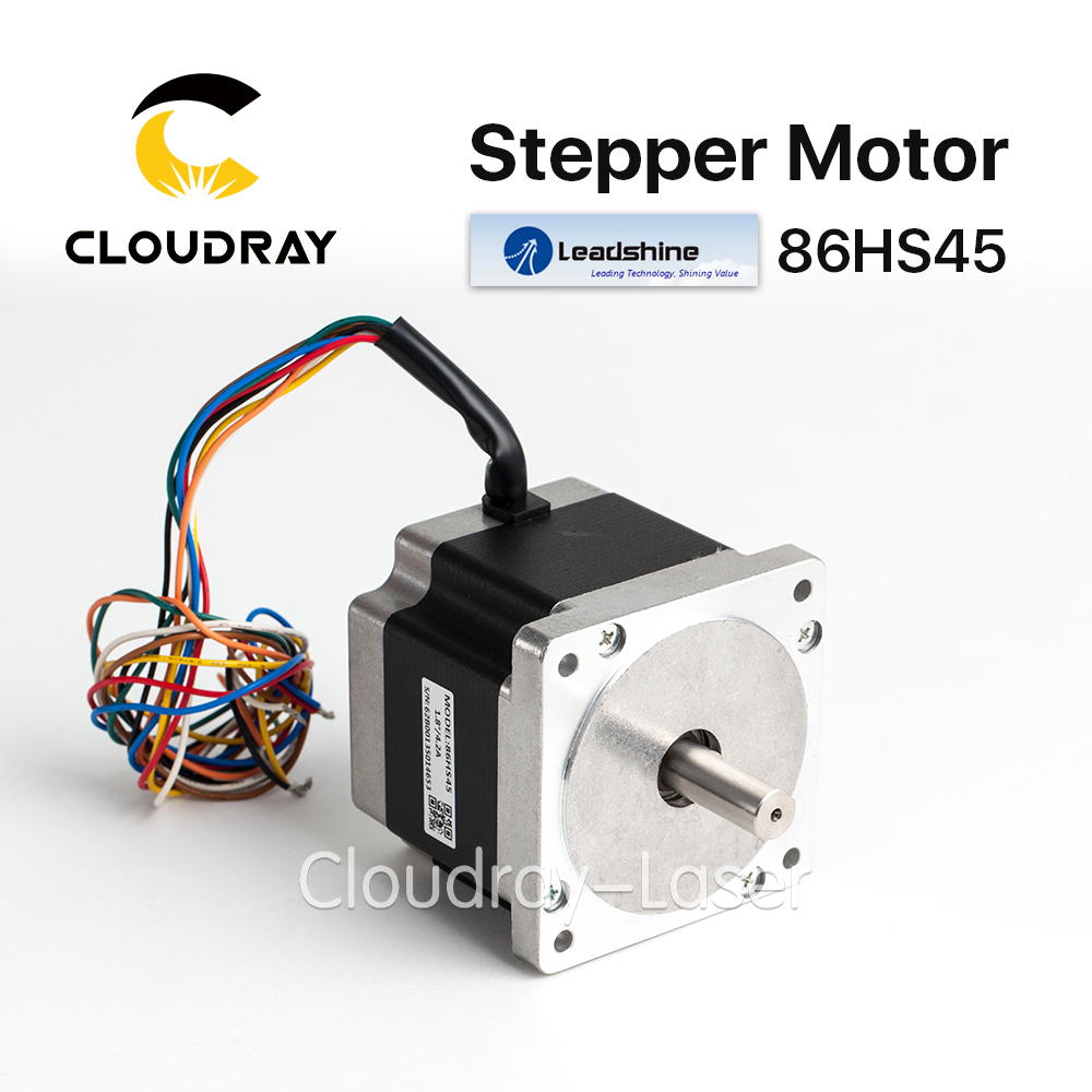 Cloudray Leadshine 2 phase Stepper Motor 86HS45 for NEMA34 2 phase stepper motor and drive m542 86hs45 4 5n m new