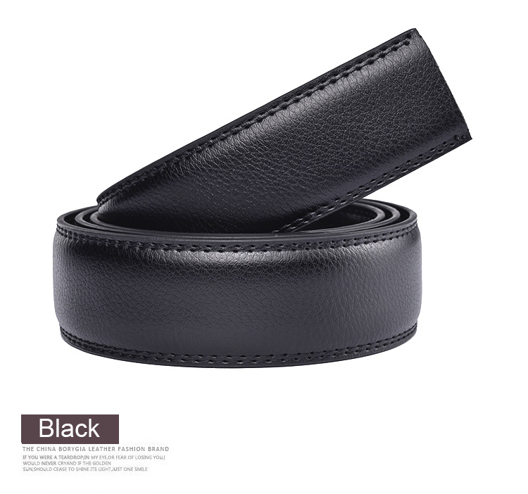 Brand Designer Leather Strap Male Belt Automatic Buckle Belts For Men Girdle Wide Mens Belt Waistband ceinture Without Buckle