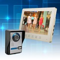 "Wired 10"" inch Video Door Phone House Gate Intercom Camera with 1 Indoor Monitor System"