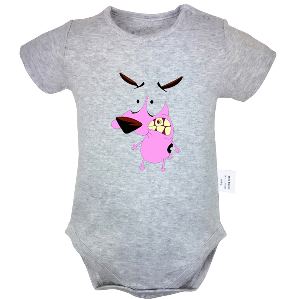 Funny Baby Clothes Pug Dog Pattern Baby Toddler ALL-OVER PRINT Baby T-shirt