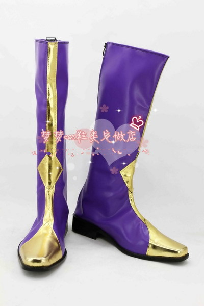 CODE GEASS Lelouch of the Rebellion Zero PU High Boots Shoes Anime Cosplay EU US Size Custom Made New Arrival Free Shipping