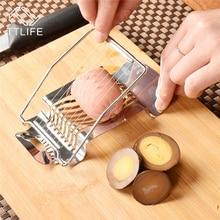 TTLIFE Stainless Steel Egg Slicer Multi-Function Kitchen Cutter Sectione Fruite Mushroom Tomato Gadget
