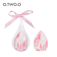 O.TWO.O 1pc Makeup Sponge with Water-drop Shape Box Smooth Women's Makeup Foundation Cosmetic Puff to Make Up Tools