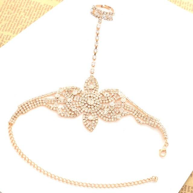 Crystal Boho Bracelet...