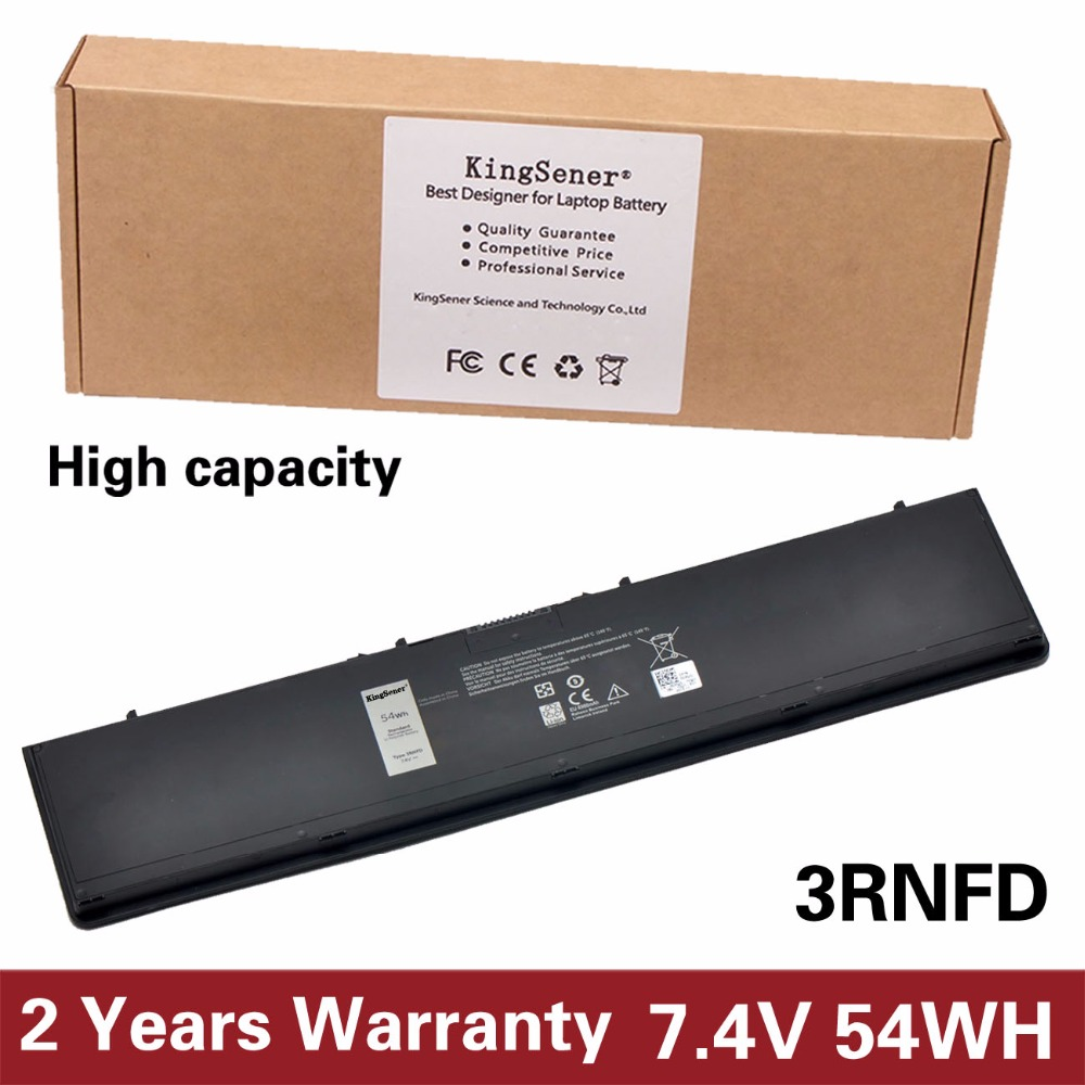 KingSener 7.4V 54WH New 3RNFD Laptop Battery For DELL Latitude E7420 E7440 E7450 3RNFD V8XN3 G95J5 34GKR 0909H5 0G95J5 5K1GW new laptop 15 6 led screen b156htn02 1 for dell latitude 3540 1920x1080