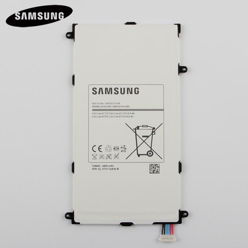 Original Tablet Batterie T4800E Für Samsung Galaxy Tab Pro 8.4in SM-T325 T320 T321 SM-T321 Echtem Ersatz Batterien 4800 mah