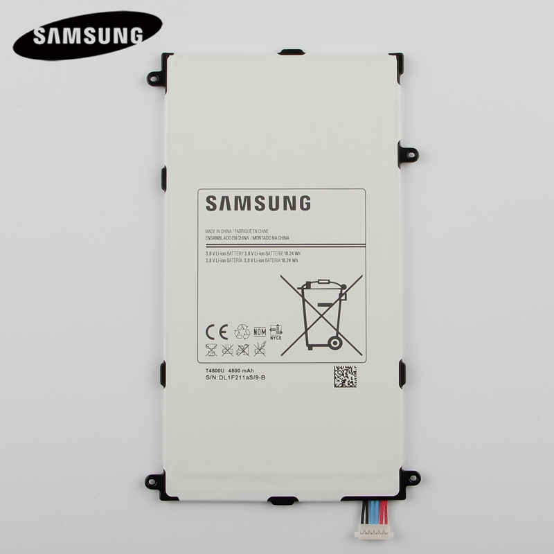 Original Tablet Battery T4800E For Samsung Galaxy Tab Pro 8.4in SM-T325 T320 T321 SM-T321 Genuine Replacement Batteries 4800mAh