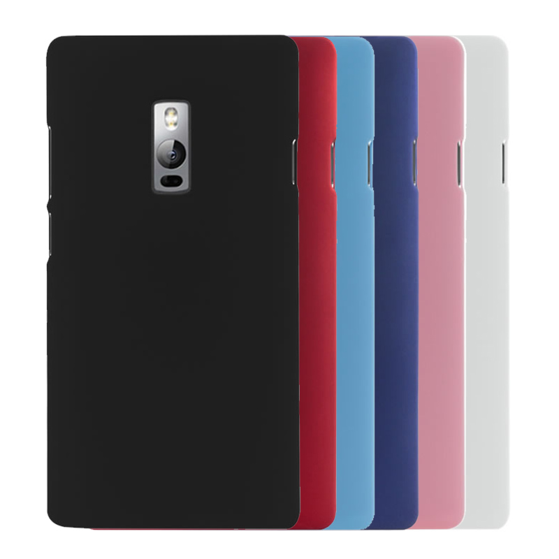 2015 New Multi Colors Luxury Rubberized Matte Plastic Hard Case Cover For Oneplus Two Oneplus 2 5.5 inch Cell Phone Cover Cases