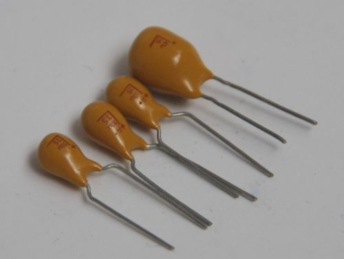 5pcs//50pcs 15V 10uF 15V 106 Radial DIP Tantalum Capacitor instead of 10V10uf