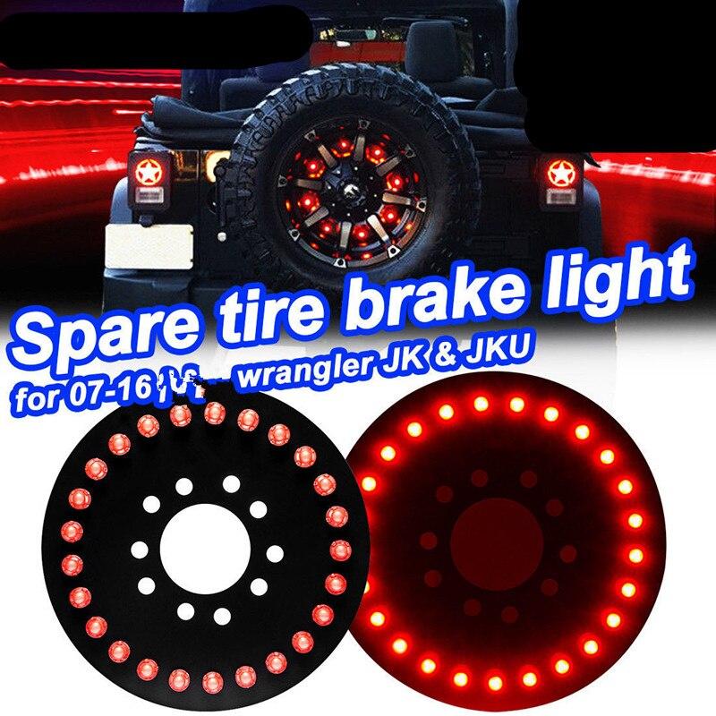 Spare Tire Light Led Third Brake Lights For Jeep Wrangler