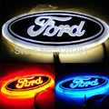 Free Shipping New High Quality WHITE/Red/Blue LED REAR Badge Emblem Car Logo for FORD MONDEO-10 FOCUS-07 14.5cm x 5.6cm