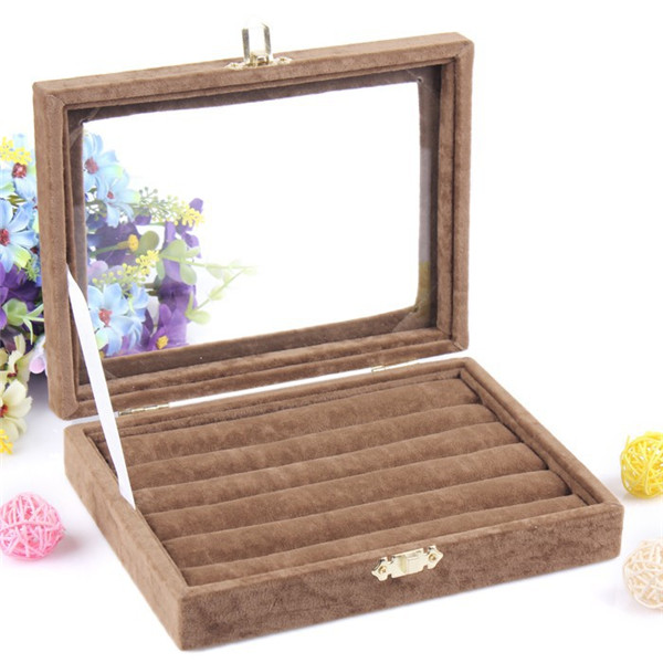 Wholesale Purple Brown color Bijou Display Box Jewelry Sets Necklace Earrings Ring Packing Gift Box колье bijou trésor