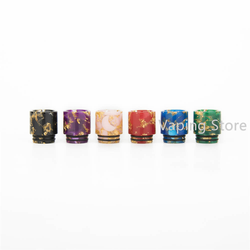 Golden Resin 810 Wide Bore Drip Tip Replacement for SMOK Resa Prince/TFV12 Prince/Smok MORPH 219 KIT Smok TF Tank(China)