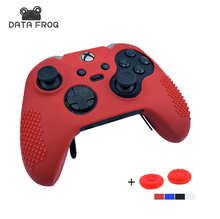4 Colors Silicone Case Protective Skin Cover Wrap Case For Xbox One Elite Controller Joystick Gel Rubber With 2 Pcs Thumb Sticks