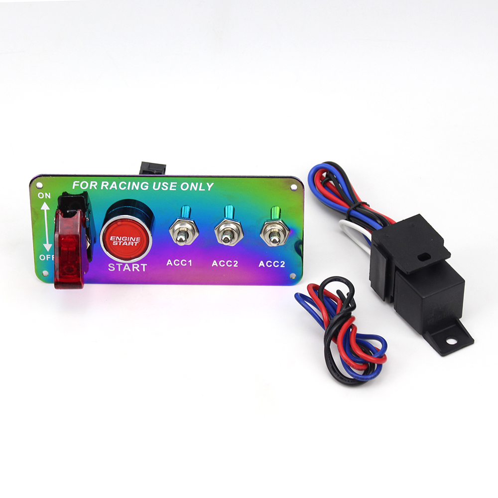 Switches & Relays Yao Useful Car 12V Switch Ignition Engine