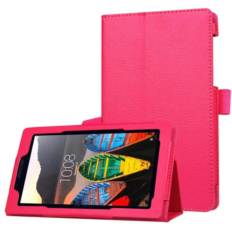 Tablet Case For Lenovo Tab3 730 730f 730m 730x TB3-730F TB3-730M 7.0 Inch PU Leather Case Cover For Lenovo Tab 3 Protect Shell
