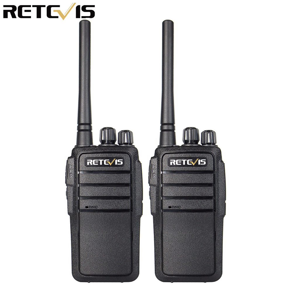 2pcs Walkie Talkie Retevis RT21 UHF 2,5W VOX Vysílač Hf Vysílač Hf Vysílač dvoukanálový