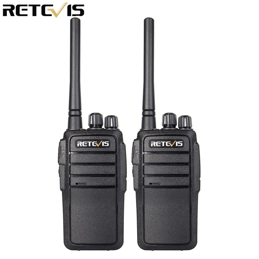 2st Walkie Talkie Retvis RT21 UHF 2,5W VOX-skinkradio Hf-sändare Tvåvägs radio comunicador