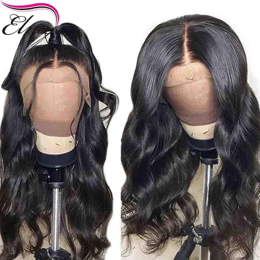 Elva Hair 13x6 Lace Front Human Hair Wigs Body Wave Brazilian Remy Hair Wigs Pre Plucked Hairline With Baby Hair For Black Women