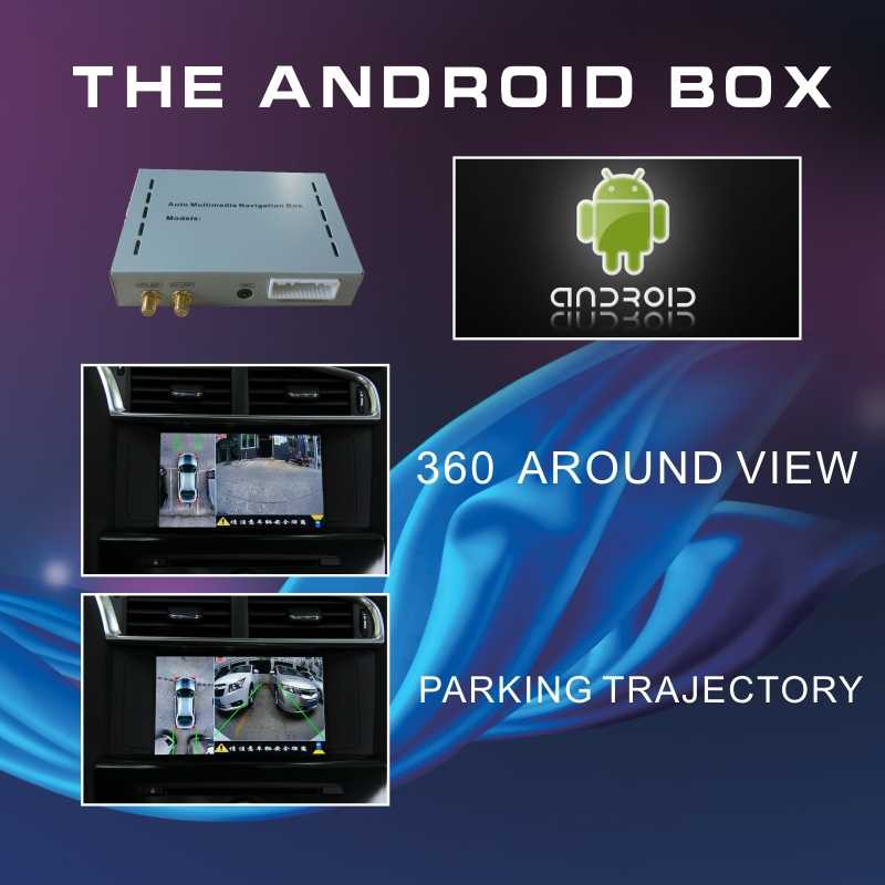 Android 6 0 GPS navigation box for Citroen C4 C6 Blue-i system video  interface box with Carplay waze yandex navi rear view