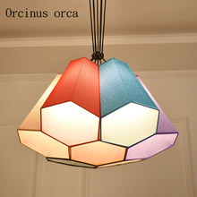hot deal buy nordic simple chandeliers idyllic cozy bedrooms children's halls chandeliers free shipping