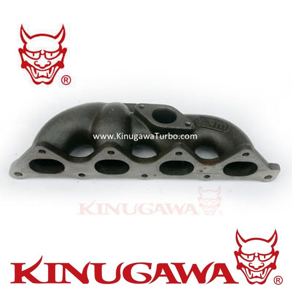 US $175 0  Kinugawa Turbo Manifold Kit T25 Flange for Mitsubishi 4G92 4G93  Lancer SOHC DOHC GSR 1 8T-in Turbo Chargers & Parts from Automobiles &