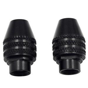 0,3-3,4 мм мини мульти ключ сверлильный патрон M7 M8X0.75 быстросменный трехкулачковый сверлильный патрон для вращающихся инструментов