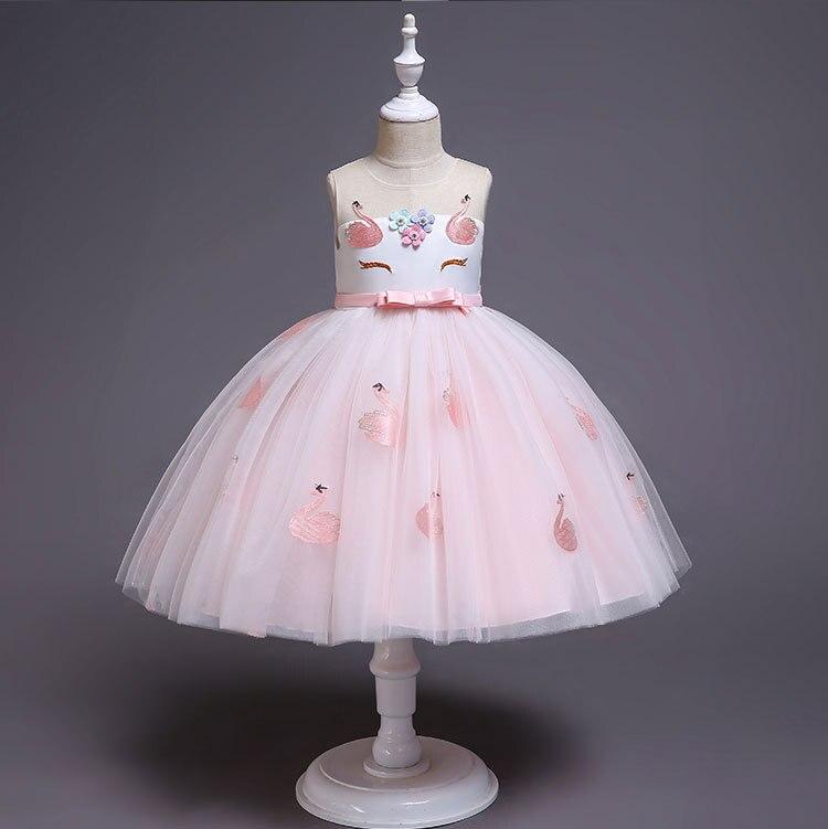 HTB1F.AJatfvK1RjSszhq6AcGFXa6 New Unicorn Dress for Girls Embroidery Ball Gown Baby Girl Princess Birthday Dresses for Party Costumes Children Clothing