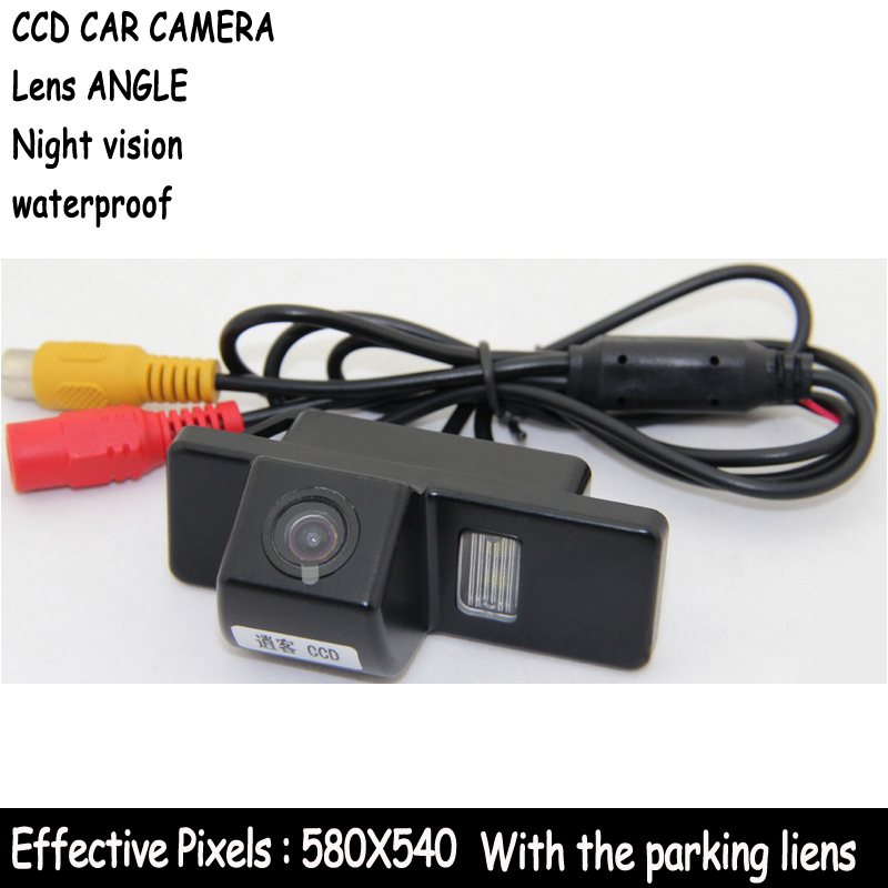 paking Car Rear View Reverse CAMERA HD CCD for QASHQAI X-TRAIL Geniss Citroen C4 C5 C-Triomphe Peugeot 307cc Pathfinder Dualis