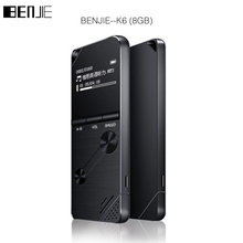 2017 BENJIE 8GB mp3 music player lossless HiFi MP3 Portable audio player metal MP3 FM radio
