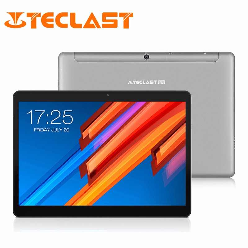 Teclast M20 4G Network Tablet PC MT6797 X20 Deca Core 3GB RAM 32GBROM Android 8.0 10.1 inch 1920*1200 GPS Phablet