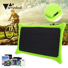 New 5V 6W Portable Travel Solar Power Charging Panel Charger USB For Mobile Phone Professional Home Solar Panel Gift