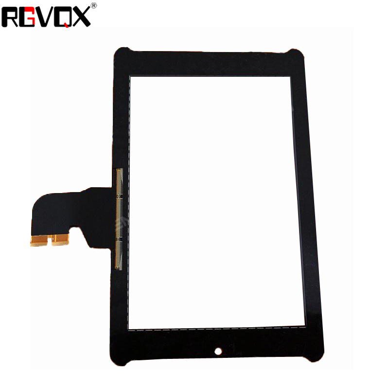 RLGVQDX New For Asus Fonepad 7 ME372CG ME372 K00E Black 7 quot Touch Screen Digitizer Sensor Glass Panel Tablet PC Replacement Parts in Tablet LCDs amp Panels from Computer amp Office
