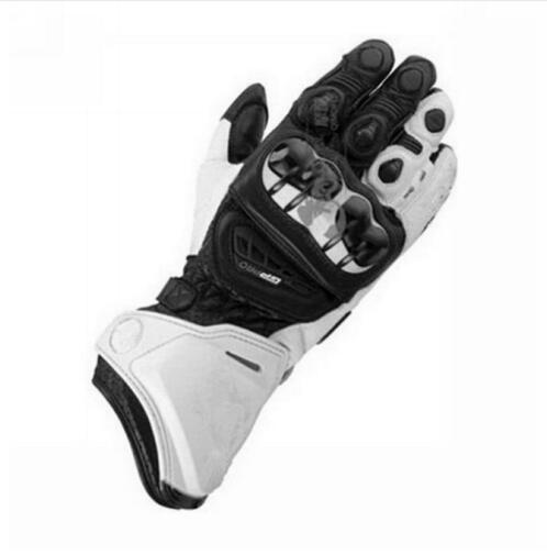 <font><b>3</b></font> <font><b>Colors</b></font> <font><b>GP</b></font> <font><b>Pro</b></font> Black/White Motorbike Leather Sports <font><b>Racing</b></font> <font><b>Gloves</b></font> <font><b>Motorcycle</b></font> Leather <font><b>Gloves</b></font> Road Bike <font><b>Racing</b></font> Riding Track