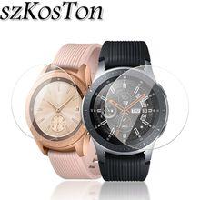 1 шт/2 шт/5 шт 9H против царапин Закаленное стекло для samsung Galaxy Watch 46 мм 42 мм Защитная пленка для экрана