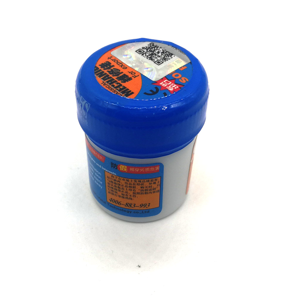 100% Original HK MECHANIC Sn63/Pb37 Solder Paste Flux XG-50 For Soldering Iron Hakko T12-9501/936/907 Saike 852D Repair Tool