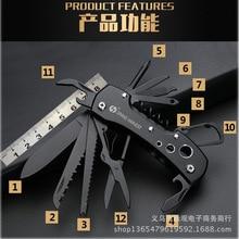 Новейший функциональный Швейцарский 91 мм складной нож из нержавеющей стали, многофункциональный инструмент, армейские ножи, Карманные охотничьи ножи для кемпинга и выживания
