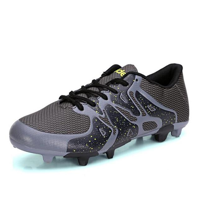 Professional soccer shoes men women kids Turf IC TF AG FG Football Boots  Athletic indoor soccer cleats zapatos de futbol d416f040a8d9a